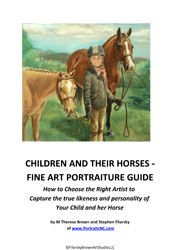 Cover of Child Horse Portrait Guide